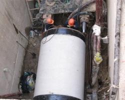 钢承口管施工现场